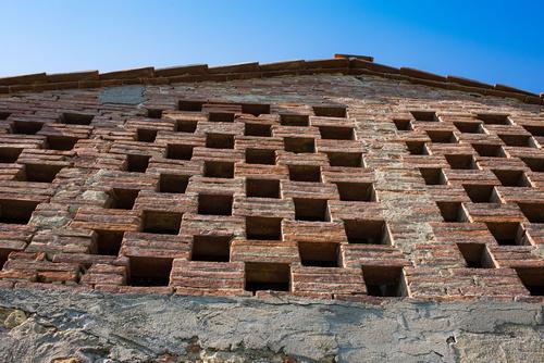 Barn ventilated facade